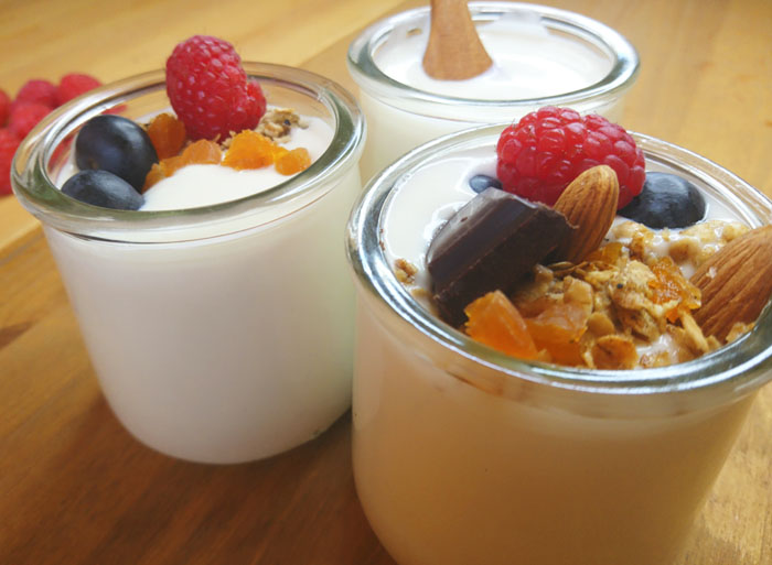 yogur vegano de almendras