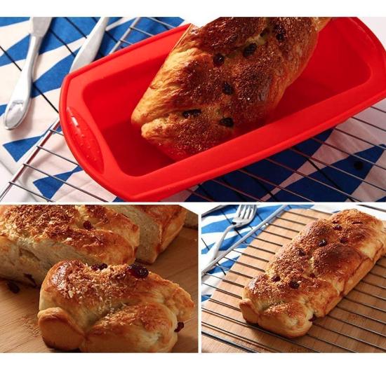 molde silicona tartas y pan