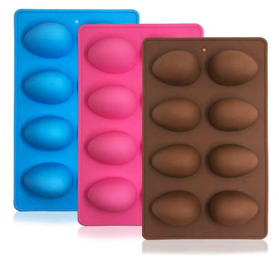 moldes en forma de huevo
